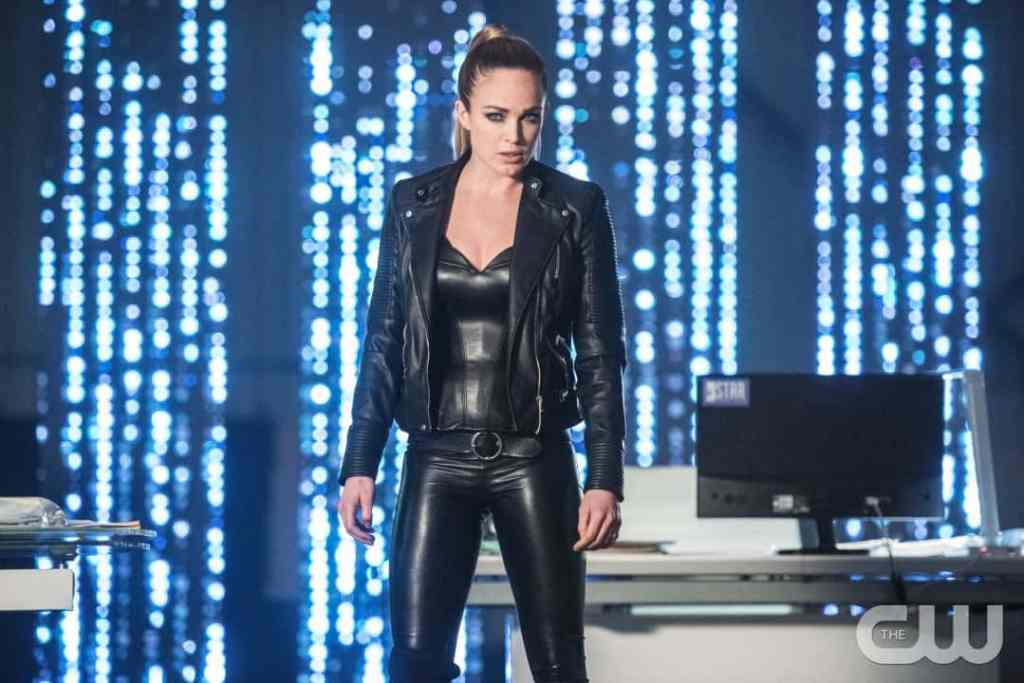 """DC's Legends of Tomorrow --""""Doomworld""""-- LGN216a_0399.jpg -- Pictured: Caity Lotz as Sara Lance/White Canary -- Photo: Dean Buscher/The CW -- © 2017 The CW Network, LLC. All Rights Reserved"""