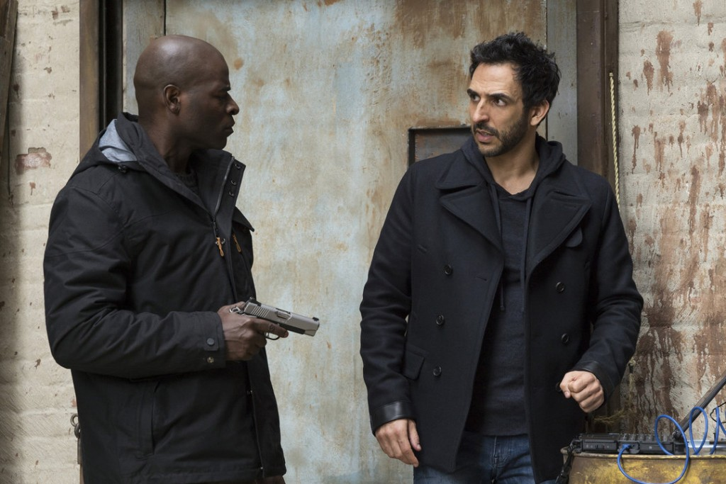 "Photo from the episode ""Dembe Zuma"""
