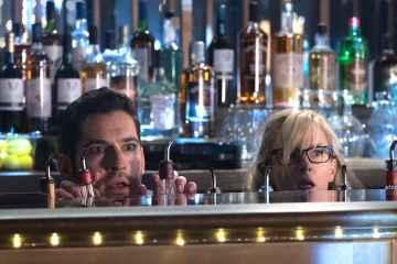 "LUCIFER: L-R: Tom Ellis and Rachael Harris in the ""God Johnson"" episode of LUCIFER airingMonday, May 15(9:01-10:00 PM ET/PT) on FOX. Cr: Jack Rowand/FOX"
