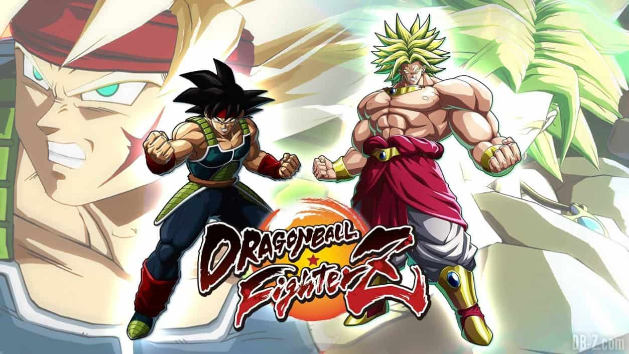 Broly And Bardock In Action Dragon Ball FighterZ Dual Pixels