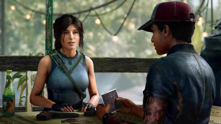 Shadow of The Tomb Raider Lara Croft Cover.
