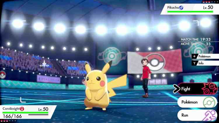 PoKémon Sword and Shield - Gym Battles