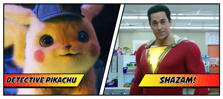 Detective Pikachu and Shazam split for SDCC.