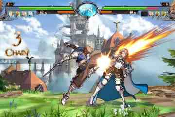 Granblue Fantasy_Versus - Training 01