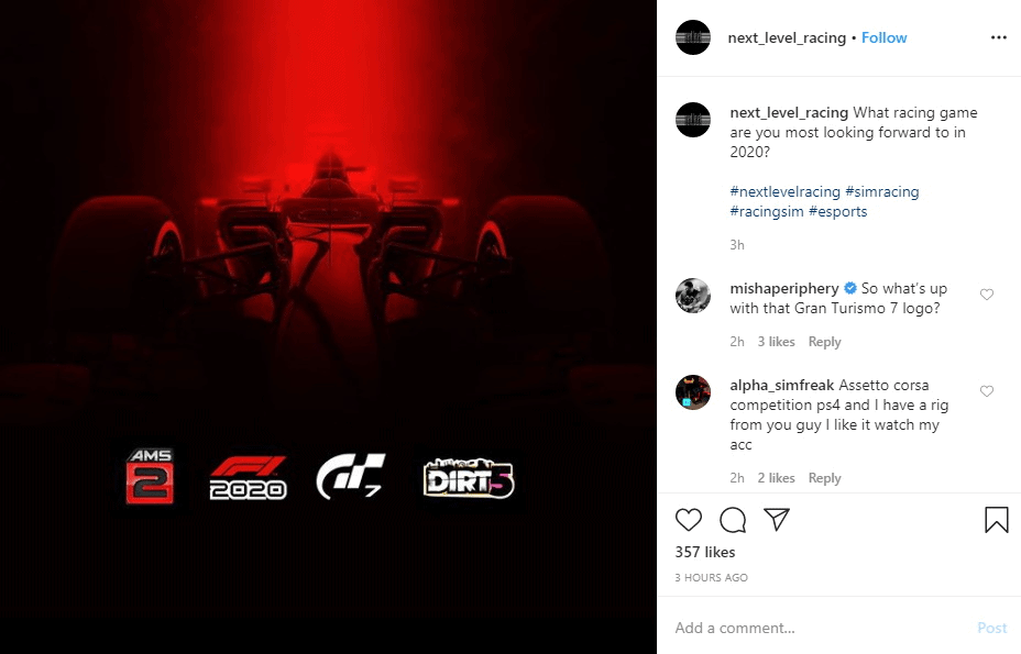 Next Level Racing might have accidentally leaked Gran Turismo 7