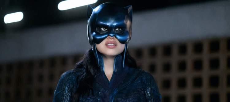 Yvette Monreal as Yolanda Montez donning the Wildcat cowl