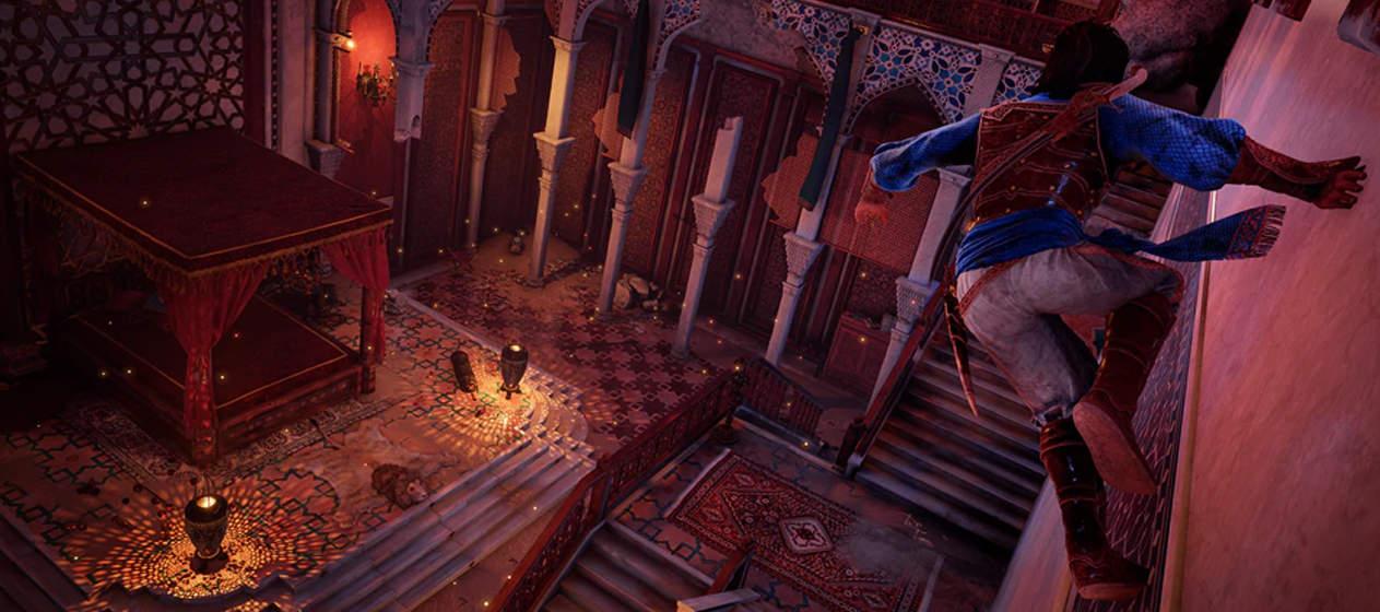 Prince of Persia Remake wallrunning.