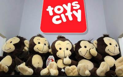 Tobi the Monkey- Toys City Mascot