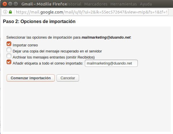 Configuracion gmail 7