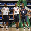 Wade at the Olympics with Kobe and LeBron