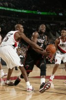 Wade in the lane.