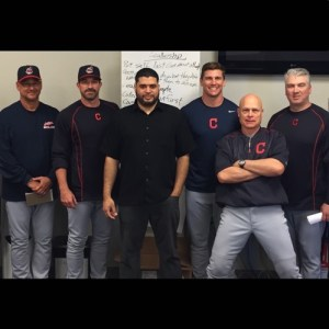 Cleveland Indians coach's training