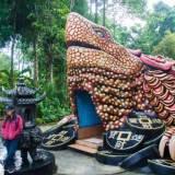 Kura-kura raksasa Vihara Buddhayana