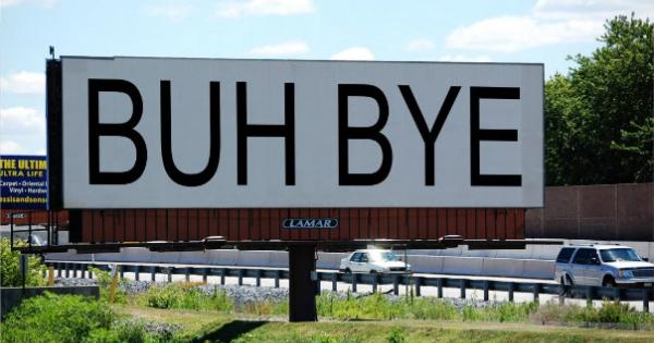 buh-bye