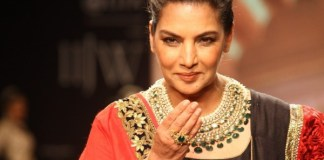 Indian actress Shabana Azmi in Pakistan