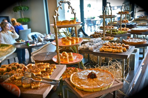 Desserts at Friday brunch Boulevard Kitchen Manzil Downtown Dubai