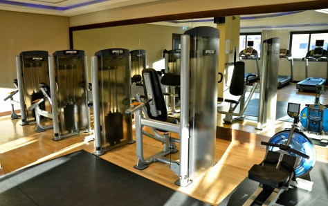 Gymnasium facilities at Traders Hotel