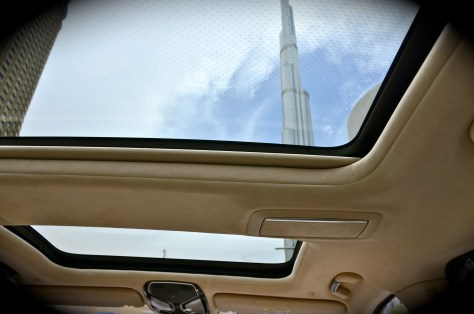 BMW 750 Li - Panorama glass roof Sky Lounge