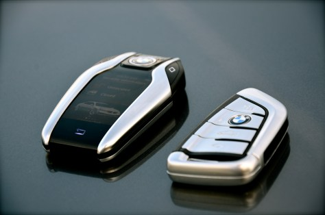 Keys of BMW 750Li