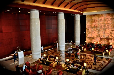 Reception of Conrad Dubai