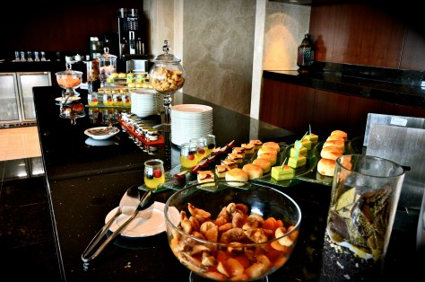 Afternoon tea at Executive Lounge - 15:00 to 17:00 hours
