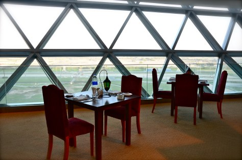 Interiors of Sky lounge at Meydan Hotel