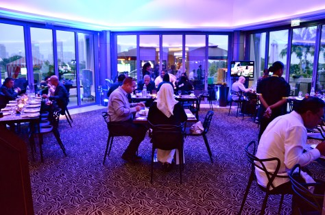 Amasi Lounge Interiors at Emirates Golf Club