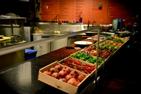 Amasi Lounge Kitchen at Emirates Golf Club