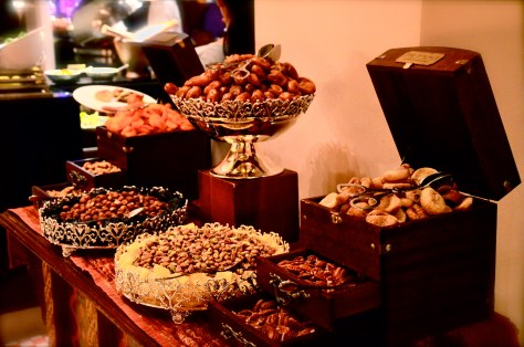 Dates and dry fruits at Ewaan 2016, at The Palace Downtown, Dubai