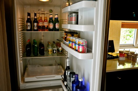 Fully loaded Fridge with all you need - Additionally charged