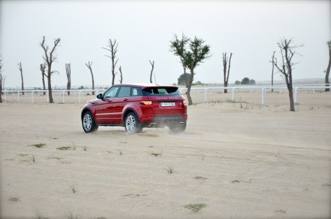 Range Rover Evoque 2016 HSE DYNAMIC on the run