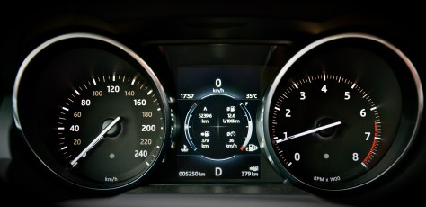 TFT Virtual Instrument Cluster