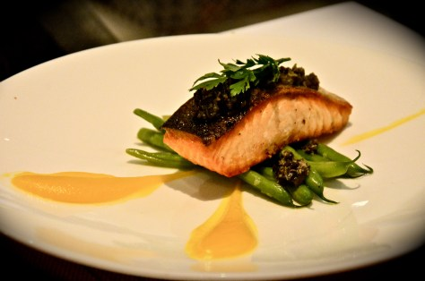 Pan Fried Salmon - AED 85