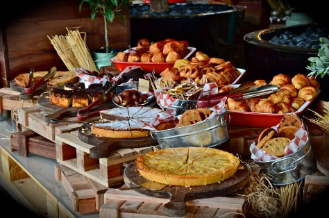 Tarts, Pastries, cakes and croissants @The Daily, Rove Hotel, Downtown Dubai