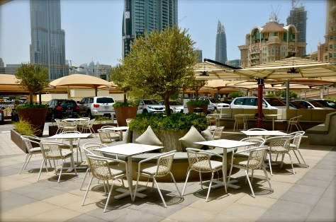 The Daily, Rove Hotel - outdoor seating