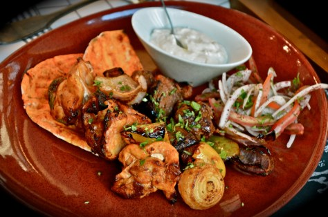 Kebabs of Marinated Lamb & Chicken Tikka - Aed 70