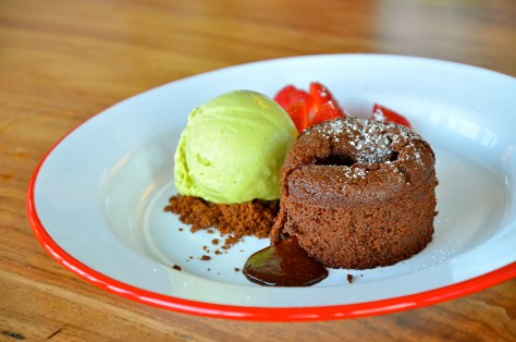 Spicy chocolate fondant - AED 26