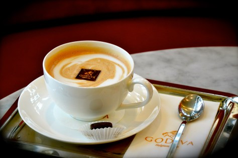 Hot Chocolixir - AED 40 - A satiny smooth and creamy hot chocolate
