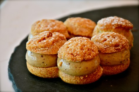 Paris-Brest - AED 35 - Choux pastry stuffed with light Praline cream