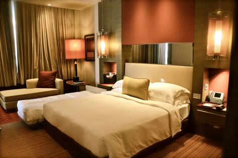 Master Bedroom at Club Rotana Suite