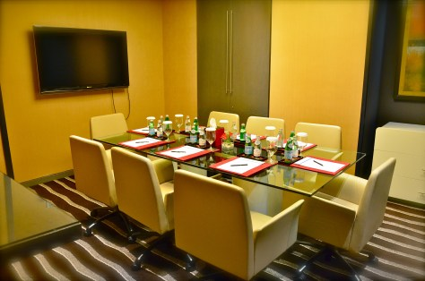 Dedicated meeting rooms at Club Rotana Lounge