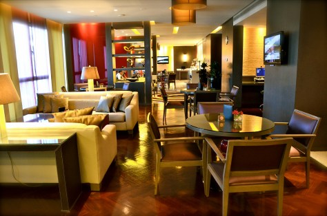 Club Rotana Lounge - Interiors