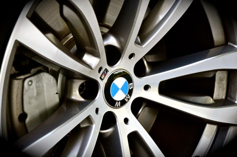 BMW Alloy wheels with M badge