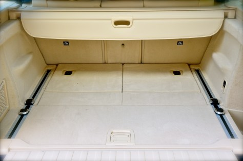 BMW X5 trunk space