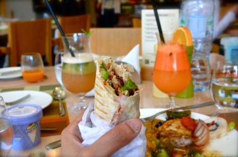 Shawarma at GINGER ALL DAY DINING Family Brunch