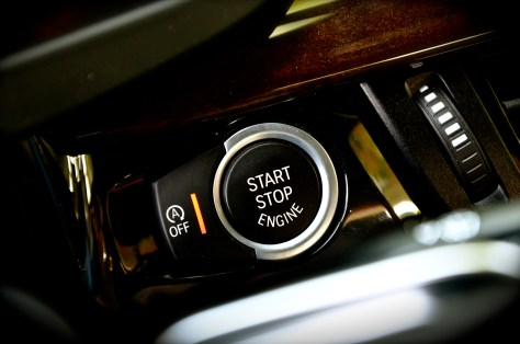 BMW Auto start stop function