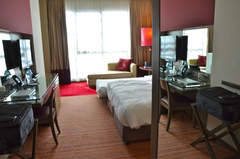 Master bedroom of the CLUB ROTANA SUITE
