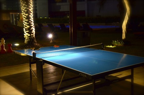 Complimentary Table Tennis at Park Rotana, AbuDhabi