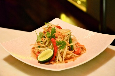 Som Thom salad - AED 45 - Bangkok green papaya salad