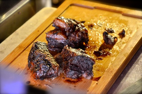 Grilled Beef pieces - well marinated and cooked